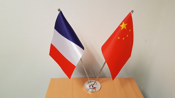 Drapeaux France-Chine